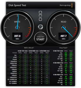 Disk Speed Test 換装後