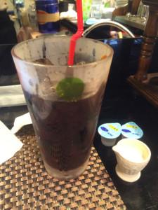 すなば珈琲のアイスコーヒー 400円