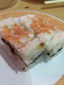 エビの押し寿司