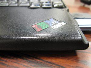 IXY DIGITAL 510 ISで撮影したThinkPad