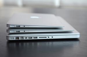 エッジがきいてるMacBook Air