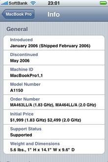 ◆iPhoneアプリ Mactracker