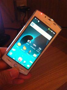AQUOS PHONE SH-12C #androidjp