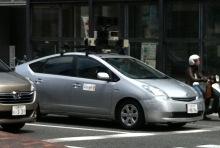 Googleストリートビュー撮影車を見た