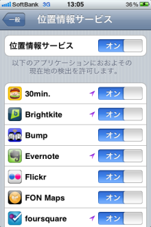 Evernoteでの位置情報活用