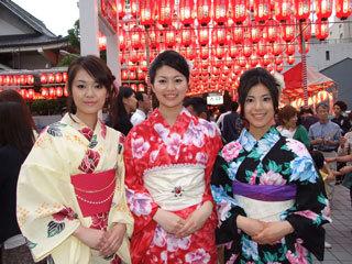 浴衣は広島に観に来い!「とうかさん」というお祭り