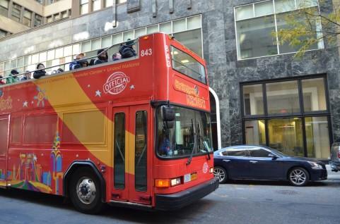 路線バスには「バックする」という機能が無いのか