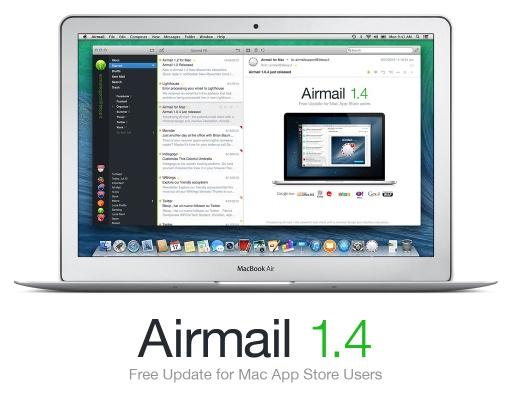 OSXのメールアプリ Airmailがアップデートしました