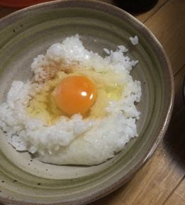 俺の卵かけご飯