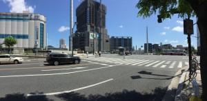 広島駅前2015年9月
