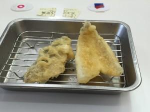 白身、青魚(さば)
