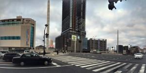 広島駅前2015年12月