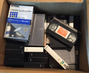 捨てたビデオテープ(の一部)
