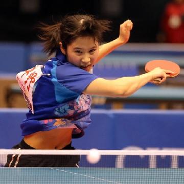 石川佳純に勝利した最少年優勝の平野美宇、「彼女、今日は勝つ!」と感じたシーン